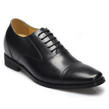 """Height Increasing Shoes 2.76"""" Leather Oxfords Elevator Shoes for Men CHAMARIPA"""
