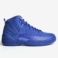 AIR JORDAN 12 RETRO DEEP ROYAL BLUE 2016 WHITE XII MEN'S NIKE DS 130690-400