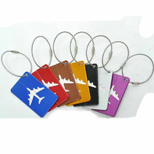 Aluminium Suitcase Travel Luggage Baggage Tag  Identity Address Name Labels