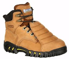 New Michelin Sledge Steel Toe Metatarsal Work Boots XPX761 Men's Brown Leather
