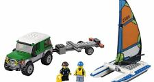 Brand New LEGO City Great Vehicles 4x4 with Catamaran (60149)