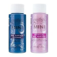 Gelish Harmony Soak Off UV Nail Gel Polish Remover Cleanser 2oz 60mL MINI Basix