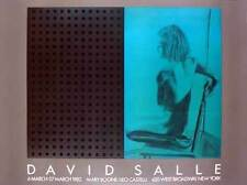 David Salle Salle at Boone Castelli 1982 Offset Lithograph Edition of 500