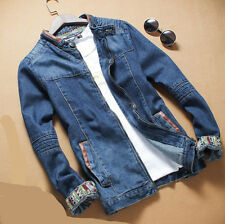 Youth Boys Vintage Mens Denim Coat Jacket Casual Casual Jean Jacket Outwear Coat