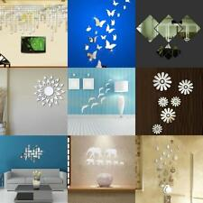 Acrylic Mirror Wall Home Decal Mural Decor Vinyl Room Art Stickers DIY