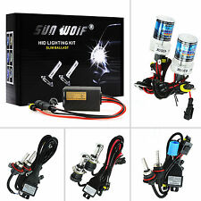 Xenon HID Conversion Kit 55W AC Quick Start Fast Bright Head Lights 3000-30000K