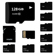 Hot 2- 64GB Brand New Micro SD SDHC TF Memory Card & SD Adapter High Speed