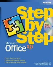 Microsoft Office XP Step by Step by Inc. Staff Online Training Solutions,...