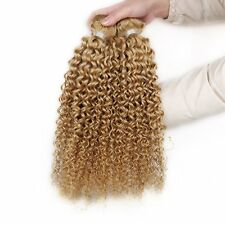 3Bundles Peruvian Virgin Kinky Curly Hair Extensions Remy Hair Human Hair Wefts