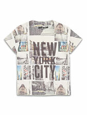 BNWT Older Boys New York City Print T-shirt Top Age 8-14 Years *FREE P&P*