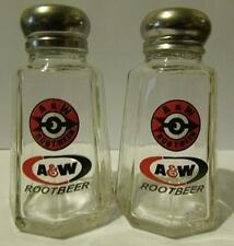 Charming A&W Rootbeer Salt and Pepper Shakers