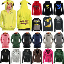 Womens Hooded Hoodie Sweatshirt Blouse Pullover Coat Jacket Jumper Sweaters Top