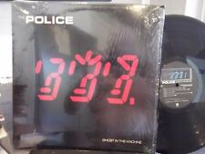 THE POLICE GHOST IN THE MACHINE LP IN SHRINK ON AM RECORDS EX+ COPY