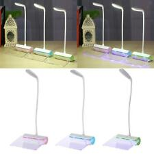 Adjustable LED Table Lamp w/ Message Board Desk Lamp Portable USB Charger