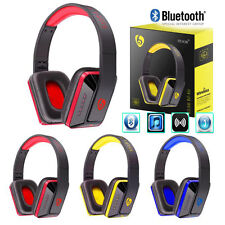 Headband Wireless Bluetooth Stereo Headset Bass Earphone Headphone For iPhone