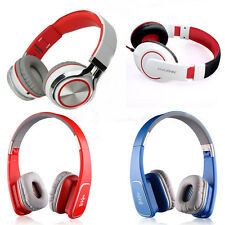 New Universal 3.5mm Stereo Bass Headband Wired Headphone Fold Headset For iPhone