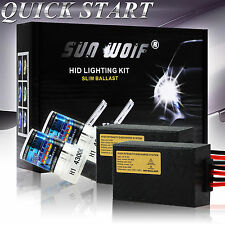 HID Conversion KIT Xenon Fog Blubs H1 H7 H10 9006 H/L H4 H13 6000K 8000K 15000K