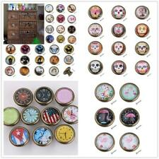 Various Drawer Pulls Kitchen Cabinet Knobs Cupboard Hardware Vintage Metal Round