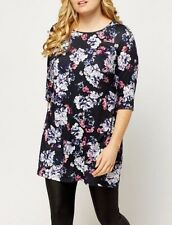 BNWT MARINA KANEVA FLORAL PRINT TOP/TUNIC/DRESS SIZE 22-24 26-28 PLUS SIZE ♡♡♡