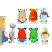 Frog/Penguin Potty Training Toilet Urinal for Boys Toddler Kids Pee Trainer Tool