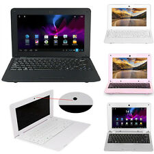"""10.1"""" Android4.4 Dual Core WiFi Laptop Camera Netbook Notebook 4GB 1.5Gz VIA8880"""