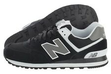 New Balance 574 Classic M574SKW Black White Suede Casual Shoes Medium (D, M) Men