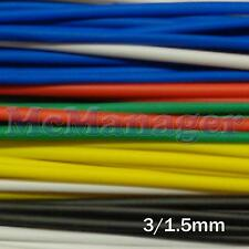 3mm 3/1.5mm Heat Shrinking Tubes Various  Length Colour Wire Insulation Sleeve