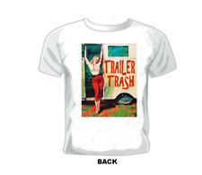 "VINTAGE TRAVEL TRAILER T-SHIRT "" Trailer Trash."""