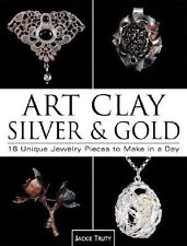 Art Clay Silver and Gold / 18 Unique Jewelry Pieces