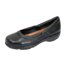 FIC PEERAGE Vicky Women Wide Width Casual Comfort Leather Loafer for Everyday