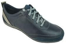 Vionic Freedom Willa Women's Navy Blue Lace Up Leather Casual Walking Shoes New