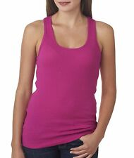 4070 Tank Top Bella + Canvas Bella+Canvas 2x1 Rib Racerback Longer Length Ladies