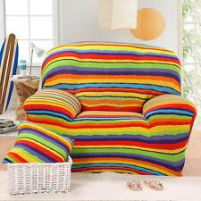 1-3 Seater Stretch Sofa&Dining Chair Seat Cover Couch Slipcover Settee Protector