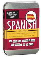NEW Magnetic Poetry: Spanish Kit by Magnetic Poetry