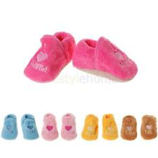 Toddler Newborn Baby Boy Girl Soft Boots Prewalker Crib Shoes Booties Slippers