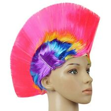 Punk Mohican Rocker Wigs Mohawk Wig Party Fancy Costume Mohawk 70s 80s Unisex