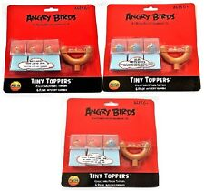 New Angry Birds 6 pack Mystery Tiny Pencil Toppers Bird Series Great Quality.