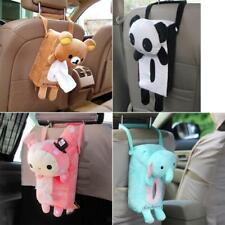 Home Office Car Tissue Box Napkin Cover Holder Paper Storage 4 Types