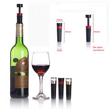 Air Saver Preserver Bottle Stopper Vacuum Sealed Pump Plug Wine Beer Champagne