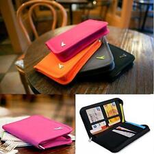 Credit ID Card Bag Organizer Case Purse Passport Holder Wallet
