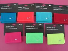 MENS WOMENS NIKE BASIC WALLETS MONEY NOTES COINS CREDIT CARD WALLET WITH ZIP