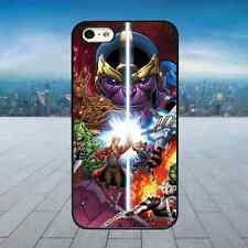 GUARDIANS OF THE GALAXY COMIC Black Rubber Phone Case Cover Fits Iphone Models