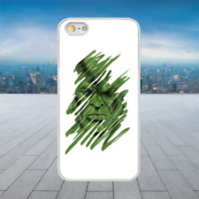 THE HULK GREEN SCRIBBLE White Rubber Phone Case Cover Fits Iphone Models