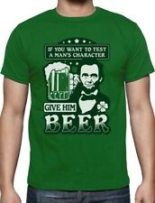 St.Patrick's Party Abe Lincoln Beer Clover Irish T-Shirt Gift Idea