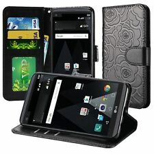 For LG Aristo LV3 MS210 Case,Leather Wallet Flip Cover[Stylus+Car Charger]