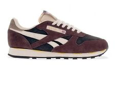 REEBOK CLASSIC LEATHER ITALY UK 6 EU 39 RARE EARTH SUEDE MENS TRAINERS WORKOUT