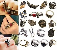 Valentine's Day Gift Multi Styles Vintage Retro Gothic Fashion Party Rings