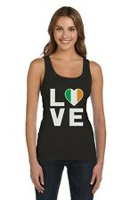 I Love Ireland - Irish Pride Flag of Ireland Gift Idea Women Tank Top Novelty