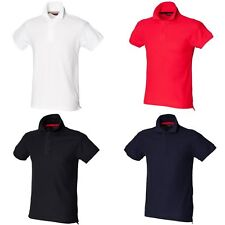 Skinni Fit Mens Club Polo Shirt (with Stay-up Collar)