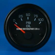 52mm Black Face Backlit Gauge Only (Select Your Gauge) Demon Motorsport